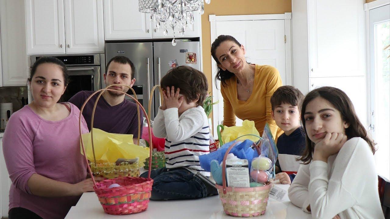 Heghineh Family Vlog #92 - Ուրախ Զատիկ - Heghineh Cooking Show in Armenian