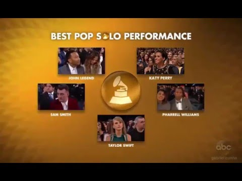 Katy Perry won the first Grammy for Best Pop Solo Performance