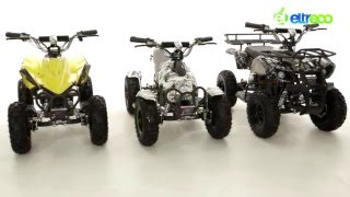 Электроквадроциклы Eltreco, для детей и взрослых(Подробнее тут: ( Eltreco БАРС 1000W - http://www.eltreco.ru/market/catalog/electroqadrocircle/item/15104/ Eltreco МУХА 500W ..., 2016-03-01T15:47:43.000Z)