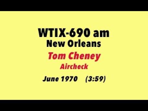 New Orleans Airwaves: Tom Cheney WTIX Newscast, June 1970