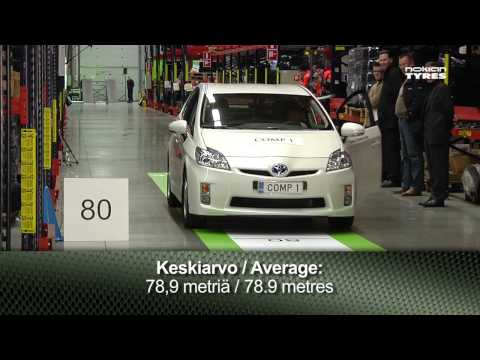The rolling resistance test of Nokian Tyres