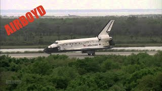 Space Shuttle Discovery Landing STS-119 Replay (2009)