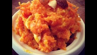 Easy Carrot Halwa (gajrela Recipe) - Easy Indian Dessert Idea (carrot Pudding)