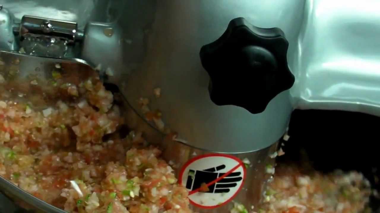 Picadora de alimentos youtube - Picadora alimentos ...