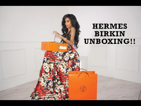 Hermes Birkin Unboxing | Lilly Ghalichi Mir