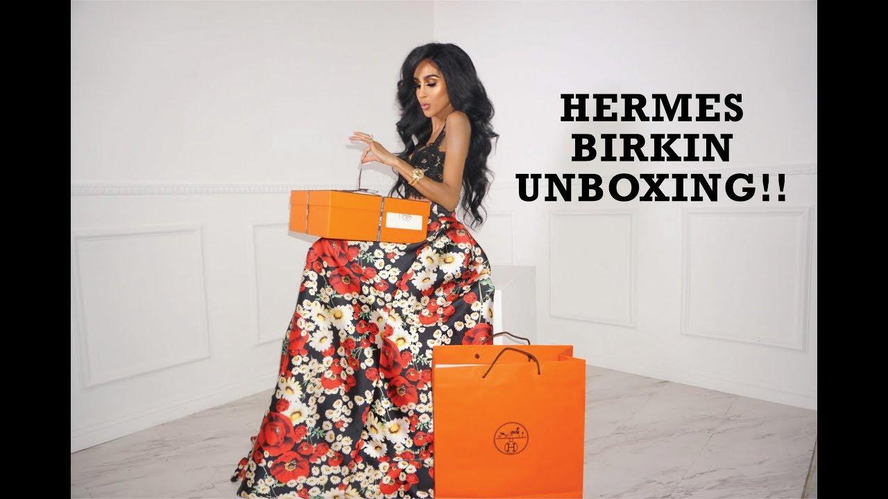 7d3d259b7d8 Hermes Birkin Unboxing