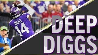 OVER/UNDER: another 60.5 yard catch for Stefon Diggs vs. Saints? | PROPS