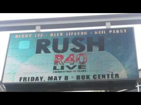 Rush - May 8, 2015 - BOK Center, Tulsa, OK - R40 Opening Night