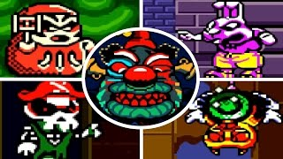 Wario Land 3 - All Bosses (No Damage)