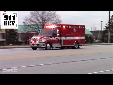 Bedford, NH Ambulance 1 Responding