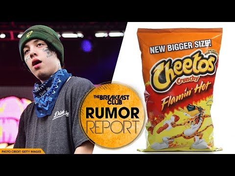 Lil Xan Hospitalized for Eating Too Many Flaming Hot Cheetos