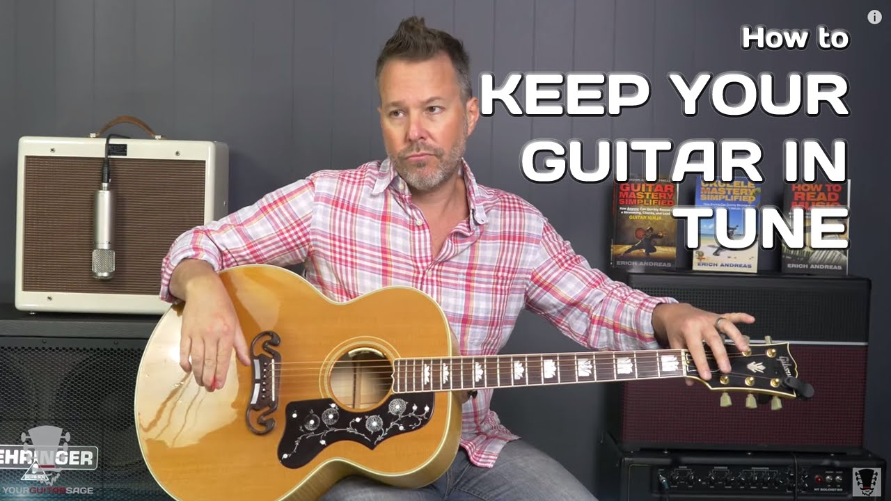 how to keep your guitar in tune tuning series youtube. Black Bedroom Furniture Sets. Home Design Ideas