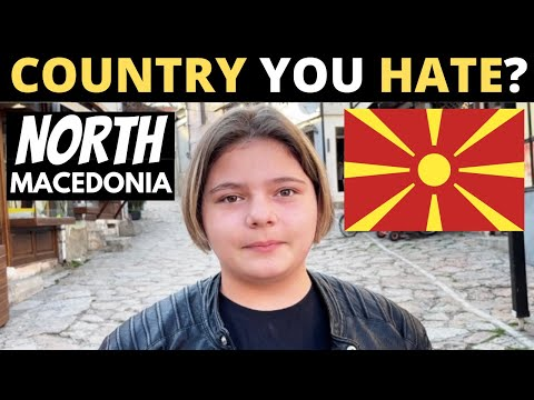 Which Country Do You HATE The Most? | NORTH MACEDONIA