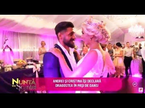 Dansul mirilor, unul dintre cele mai importante momente de la nunta Cristinei cu Andrei
