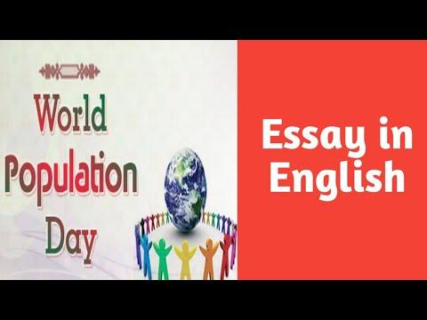 Population essays
