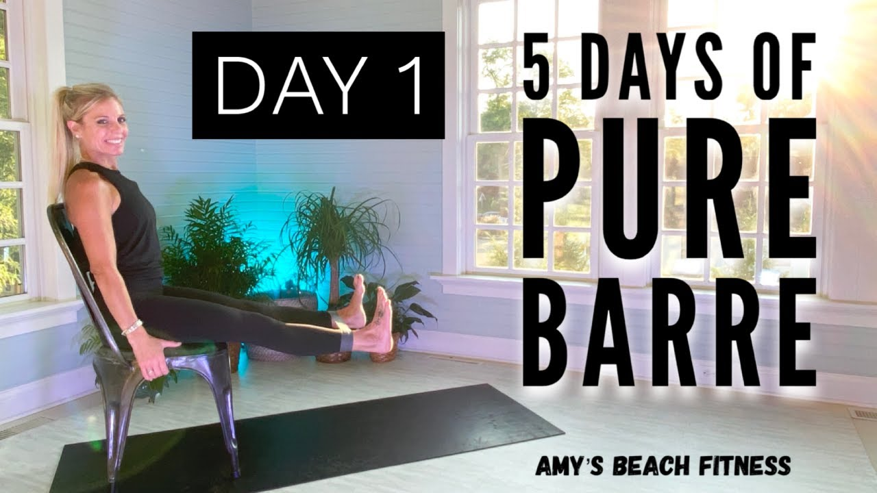 5 Days of PURE BARRE - Day 1