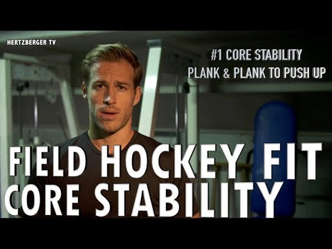 Field Hockey Fit with Hertzberger | Core Stability | Hertzberger TV