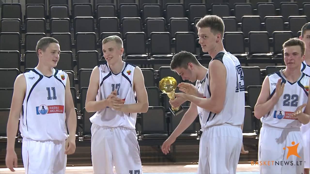 BasketNews.lt Mažosios taurės laimėtojai - Pasvalio Petro Vileišio gimnazijos auklėtiniai