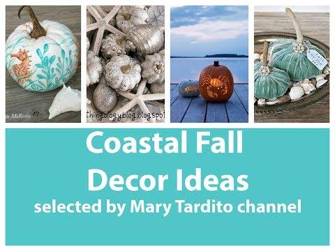 Coastal Fall Decor Ideas