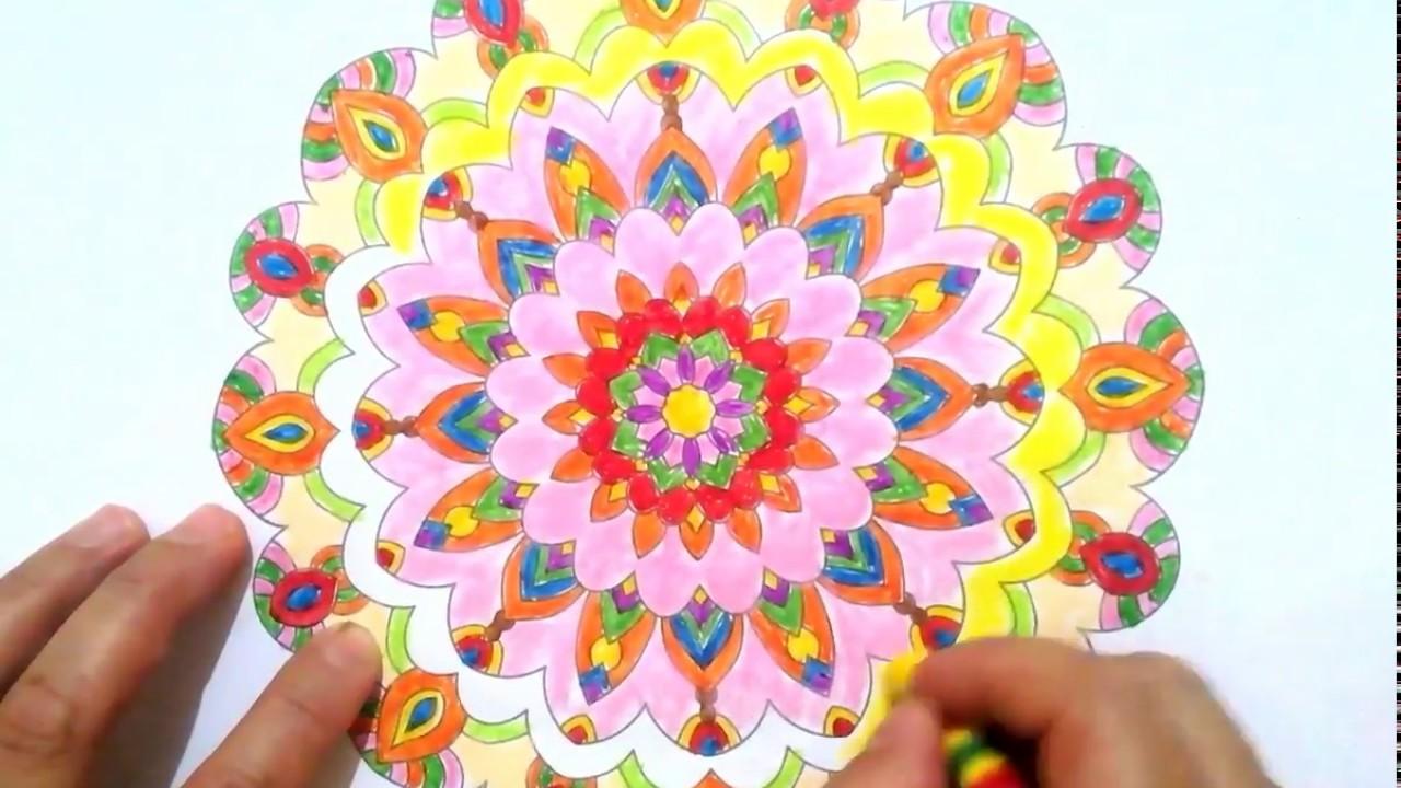 Mandala Boyama Ciz Ve Boya Youtube