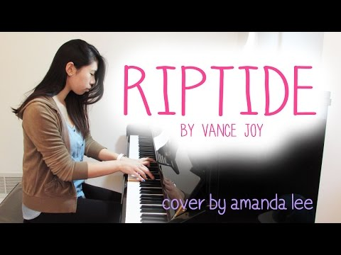 (FREE SHEET MUSIC) Riptide - Vance Joy | Amanda Lee Piano Cover