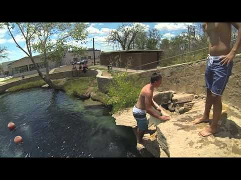 Cliff Jumping- Blue Hole
