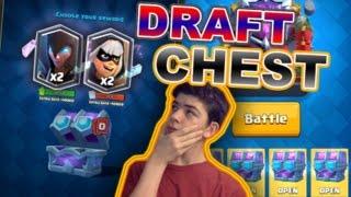 תיבת דראפט חדשה בקלאש רויאל?!? אתם בוחרים איזה קלפים תקבלו!!! • NEW DRAFT CHEST