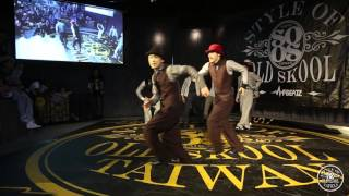 Showcase【9stepper'z】| 20160416 Style of old skool Taiwan Vol.4