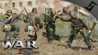 5v5 Italian Tracked Pizza Ovens - Robz Mod - Men of War: Assault Squad 2 Multiplayer Gameplay