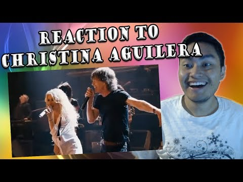Christina Aguilera and Rolling Stone - Live With Me (REACTION)
