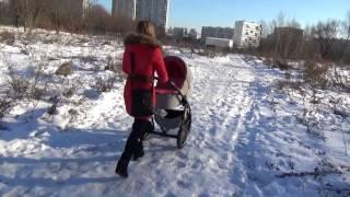 Почему не надо выбирать поворотные колеса на зиму(Не знаю я для кого придумали эти поворотные колеса! Но уж точно не для русских женщин, которые много и долго..., 2016-12-02T12:23:14.000Z)