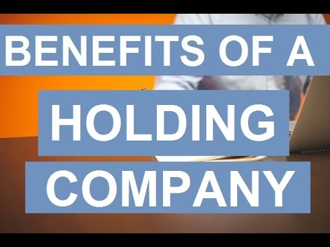 Benefits of A Holding Company
