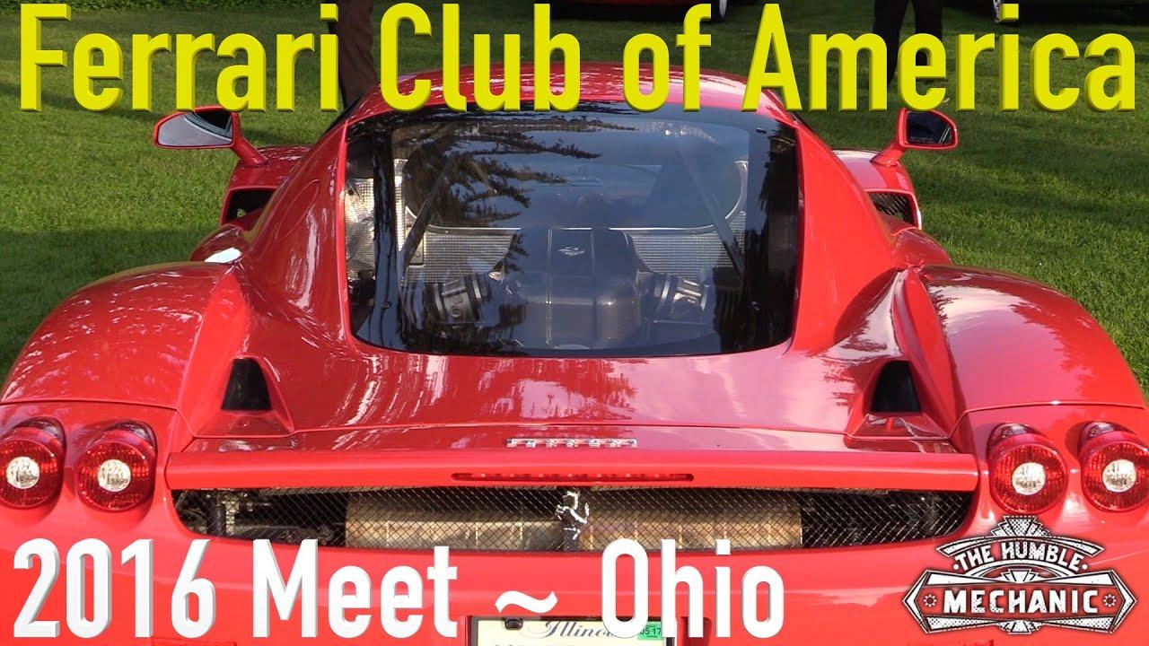 ferrari club of america 2014 annual meet