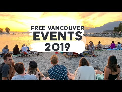 Free Things To Do In Vancouver!! (2020 Travel Guide!) Free Activities, Festivals, Food & More!