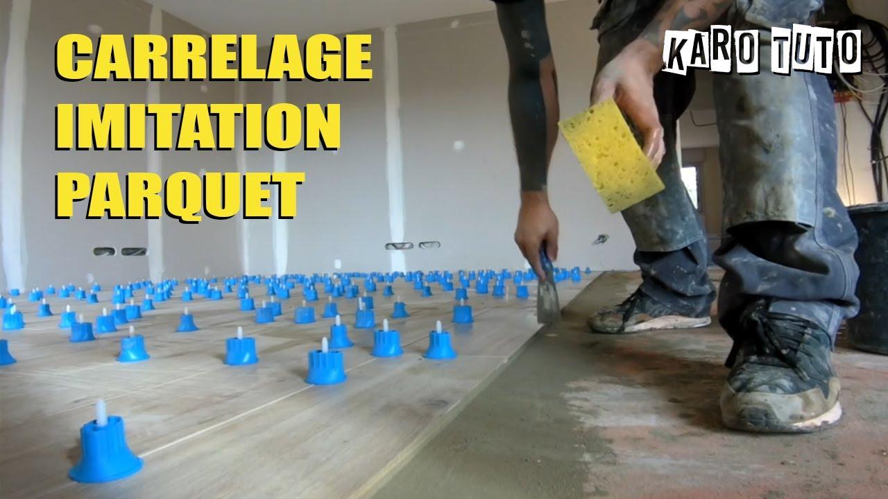 Comment Poser Du Carrelage Imitation Parquet laying imitation wood tiles