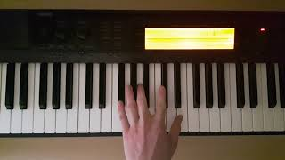 f#m11 - piano chords - how to play