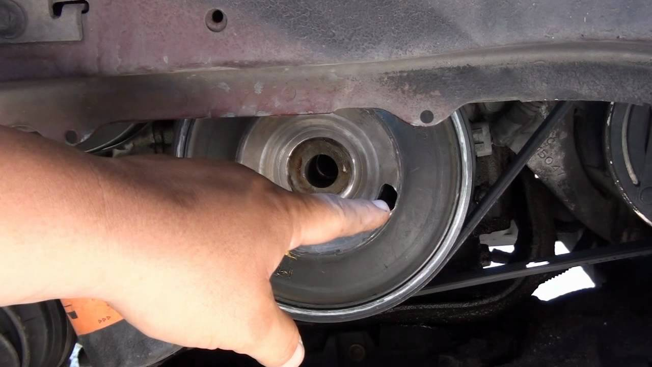 How to replace a crankshaft sensor on a grand prix gtp youtube solutioingenieria Image collections