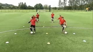 How to master soccer technique   Ball mastery drill   Part One