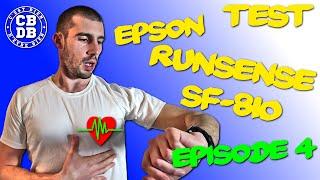 Epson Runsense SF-810 - Test du capteur cardiaque