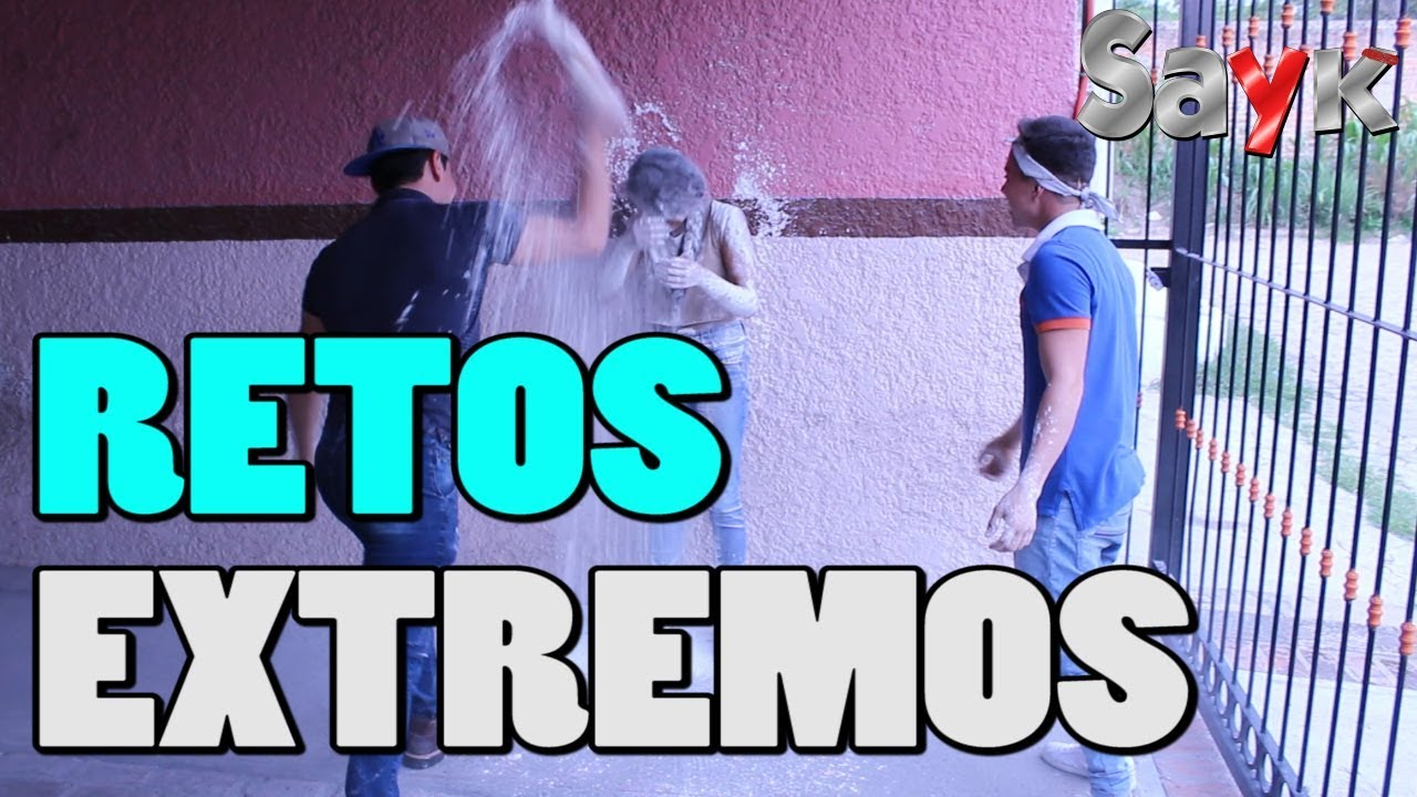 Los Mejores Retos Extremos Jesus Duran Sayk Youtube
