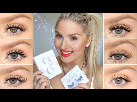 How To Apply False Eyelashes ♡ xoBeauty Lash Try-On's ...