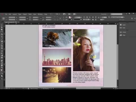 Creating and Applying Master Pages in InDesign Tutorial