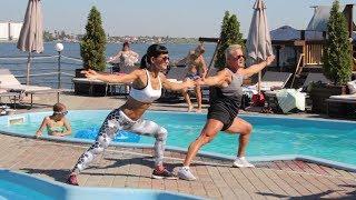 Lose weight together. Training in Patrick Nikolaev|Худеем вместе. Тренировка в Патрике Николаев