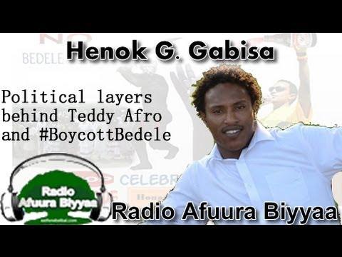 Amajjii 15, 2014 Radio Afuura Biyyaa interview with Henok G. Gabisa