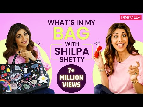 What's in my bag with Shilpa Shetty Kundra | S02E09 | Fashion | Pinkvilla