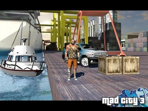 Mad City Crime 3 New Stories / Android Gameplay HD