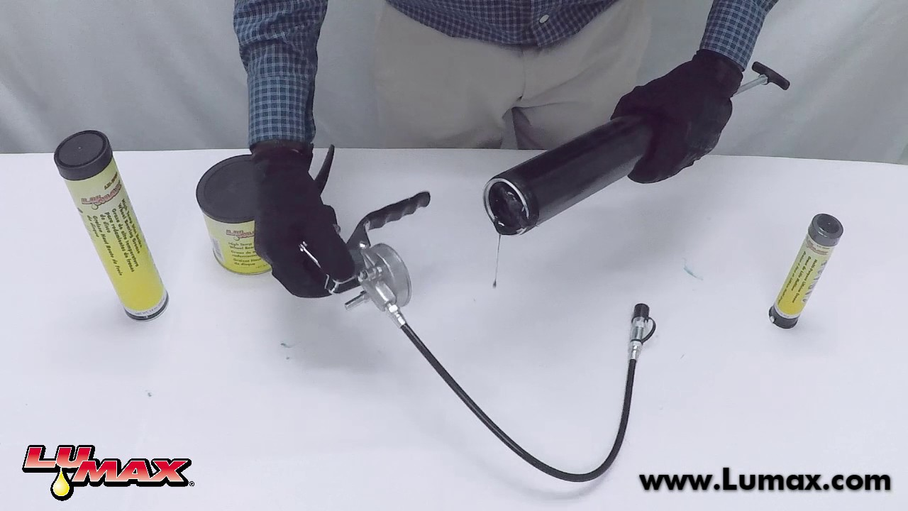 How to Properly Load a Grease Gun