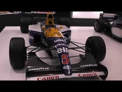 Adrian Newey Inspired Collection LONDON CLASSIC CAR SHOW 2015 ExCel Centre EXHIBITION