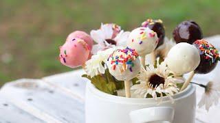 কেক পপস | ভ্যালেন্টাইনস ডে স্পেশাল | Cake Pops | Valentines Day Special
