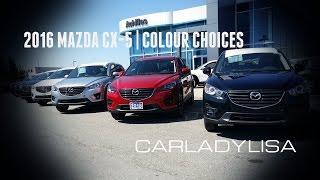 2016 MAZDA CX-5 | Colour Choices